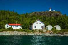 Here are 12 amazing things to see on Slate Islands, which are located 13 km off the North Shore of Lake Superior. The Slate, 7 Continents, Lake Superior, Canada, Ontario, Lighthouse, Travel Photos, North America, Islands