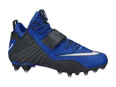 7fd527439 Nike Men s Calvin Johnson Elite 2 TD Football Cleat - White Black ...