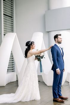 This first look with the bride and groom at the California wedding was so sweet! After getting ready for wedding day, the couple captured first look photography. Colorful Weddings, California Wedding Venues, Spring Wedding Inspiration, Destination Wedding Planner, Bridesmaids And Groomsmen, Outdoor Wedding Venues, Festival Wedding, Wedding Colors, Couple