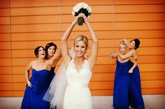 Ideas para las fotos de las damas de la boda