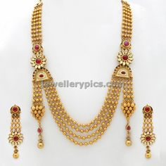 Gundla mala new model master piece ~ Gold Jewellery Designs