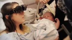 Blind Woman Sees Her Son for the Very First Time | eSight glasses, an amazing new technology, helped this mom see the birth of her son. What an incredible moment!