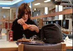 Ha Ha!! The best part of the movie.. Allison doesn't approve her lunch. ~ DR ~ Breakfast Club WiffleGif
