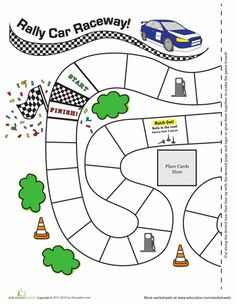 Printable Gameboards - I'm printing them for in the car with pieces on magnet sheets to use on a cookie sheet.  TONS of different printable games!