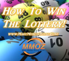 How to win the lottery.