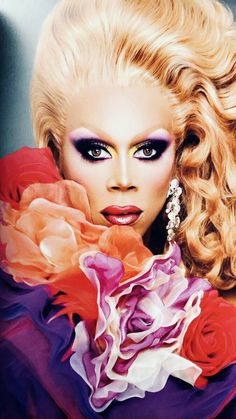 Baby Queen, I Am A Queen, Rupaul Drag Queen, Pantomime, Ever After, Covergirl, Supermodels, Lgbt, Halloween Face Makeup