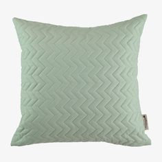 Nobodinoz / Pure / Vierkant kussen 44cm / Provence Green