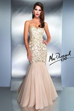 Mermaid Couture Dress COLLECTION:Couture Dresses  STYLE:1149 D  COLORS: ChampagneGrey/Gunmetal