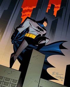 Batman Animated by Bruce Timm