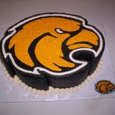 Southern Miss Groom's Cake - Birthday Cake