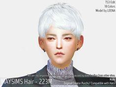 TS4 Male Hair (pucchi mesh edit) Link
