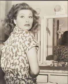 """""""Lucille Ball."""" Inspiration board by Gwendolyn-Mary.com, bringing scent and music together to create exquisite fragrance."""