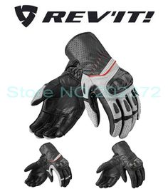 54.60$  Watch now - http://ai0sc.worlditems.win/all/product.php?id=32738092202 -  New  Netherlands REV'IT! Chevr0n 2 motorcycle gloves summer revit  motorbike glove made of leather  have 3 kinds of colors