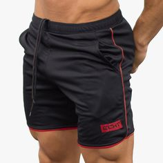 Able Gym Man Short Men Sporting Beaching Shorts Cotton Bodybuilding Sweatpants Summer Breathable Sports Men Fitness Slim Cargo Shorts Possessing Chinese Flavors Men's Clothing