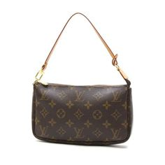 Louis Vuitton Pochette Accessoire Monogram Small bags Brown Canvas M51980