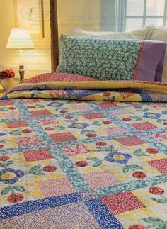 Pocketful Of Posies Quilt Pattern Pieced/Applique CK