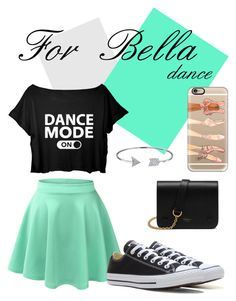 """""""Bella - Dance"""" by catyisamazing11 on Polyvore featuring LE3NO, Converse, Bling Jewelry, Mulberry and Casetify"""