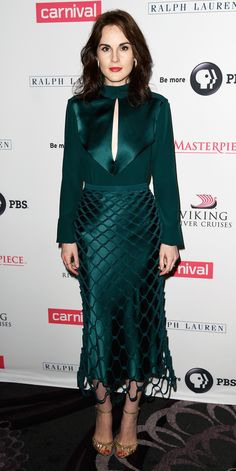 Look of the Day - Michelle Dockery from InStyle.com