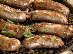 traditional italian food recipes | Italian Sausages with Lentils Recipe : Nigella Lawson : Recipes : Food ...