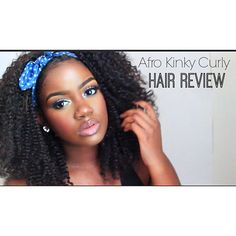 @Anicolec_ spotted in @prettygirlextensions New Afro Kinky Curly Full Lace Wig. Check out @Anicolec_ youtube review (link in her bio). Full & U-Part Wigs Afro Kinky/Kinky Curly available for purchase on Wednesday August 19th. by protectivestyles
