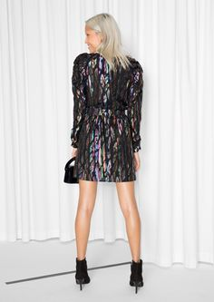 & Other Stories image 3 of Disco Dress in Black