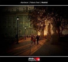 Atardecer | Palacio Real | Madrid
