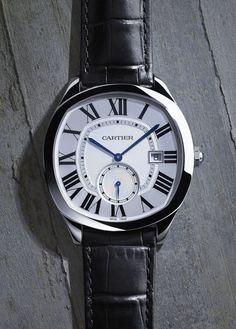 Cartier: Drive de Cartier in Edelstahl » Das Uhren Portal: Watchtime.net