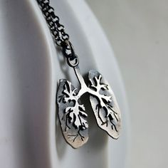 Sterling Silver Lungs