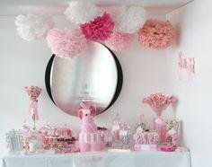 Prinzessin-Torte in rosa Farbe