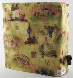 Wine Bottles & Chateau - Custom $19.95 + $2.50 shipping. To order contact sales@whatwinebox.com