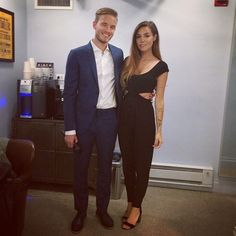 All dressed up! Tune in to watch the Colbert show now to see Felix, I'm so proud of him :)