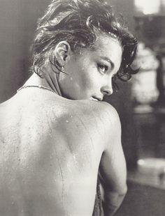 Romy Schneider in Boccaccio '70 (directed by Luchino Visconti), 1962