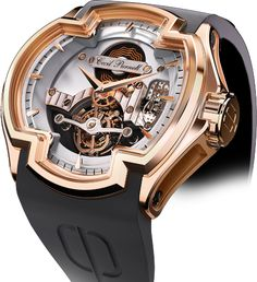 Lacroix 11.R/OR.01 Mechanical Skeleton Watch For Men