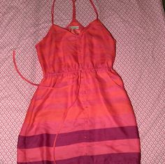 American Eagle Outfitters summer dress Cute bright pink, red, and purple America Eagle Outfitters summer dress. Perfect condition American Eagle Outfitters Dresses Mini