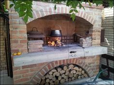Outdoor Fireplace Kits for Sale . Outdoor Fireplace Kits for Sale . Outdoor Fireplace and Pizza Oven Unique Pecara Od Stare Outdoor Wood Burning Fireplace, Outdoor Stone Fireplaces, Outdoor Fireplace Designs, Backyard Fireplace, Diy Fireplace, Fireplace Cleaning, Fireplace Modern, Open Fireplace, Pizza Oven Fireplace