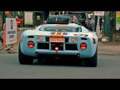 Ford GT40.  Gulf Livery
