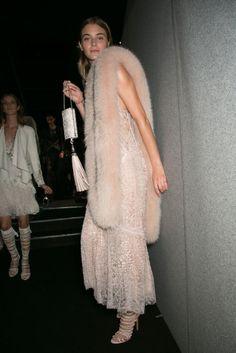 Lats moments before #RobertoCavalli fashion show in #MilanFashionWeek #SpringSummer2014