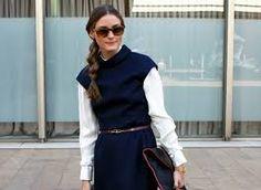 Cap sleeve dress over blouse