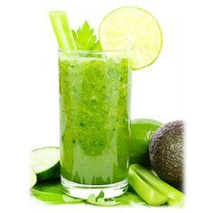 Avocado Smoothie, Smoothie Legume, Celery Smoothie, Celery Juice, Juice Smoothie, Lime Juice, Breakfast Smoothie Recipes, Green Smoothie Recipes, Easy Smoothies