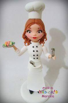 Resultado de imagem para cozinheiro porcelana fria