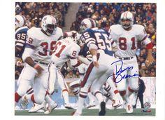Autographed Russ Francis New England Patriots 8x10 Photo