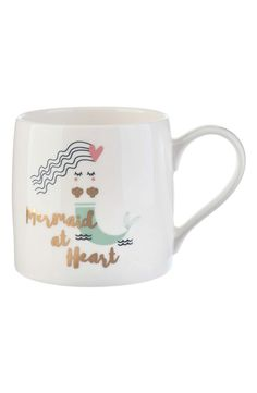 This mer-mazing mug is sure to make waves from the kitchen to the cubicle.