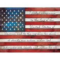 Hey, I found this really awesome Etsy listing at https://www.etsy.com/listing/224424045/ma1126-i-pledge-allegiance-to-the-flag