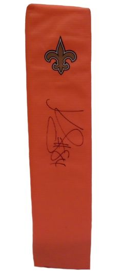 Kenny Stills Autographed New Orleans Saints Full Size Football End Zone Touchdown Pylon, Proof