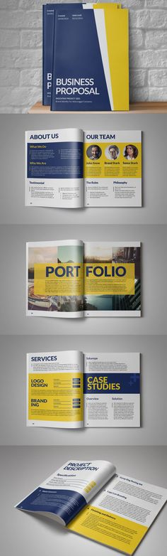 Sari Business Proposal Template Indesign Indd 14 Pages Business