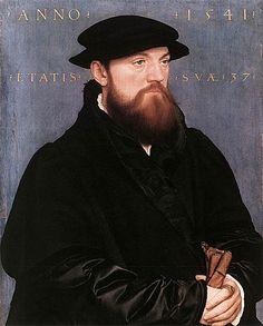 Hans Holbein the Younger-Vos van Steenwijk: ca 1541