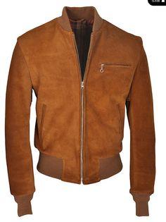 1070ff0e9d80 Camel suede jacket Manteau Homme, Vêtements Homme, Veste En Daim, Sweat À  Capuche