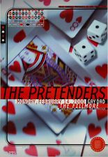 The Pretenders Concert Poster Fillmore SF 2000
