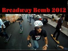 #BroadwayBomb2012 Gopole Original -[This is my unedited Broadway Bomb 2012 footage from 111-120stish riverside to the wall street Bull! Featuring the blocked off roads,cop cars, cop bikes, angry pedestrians, awesome high fives, crazy detours and everything else awesome we had to do this year. It was filmed with my Gopro connected to a Gopole Original Polestick.]