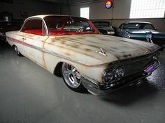Chevrolet : Impala Impala 1961 Impala Bubbletop Bubble Top Patina Air Ride Fresh Car Hot Rod Barn Find - http://www.usabarnfinds.com/archives/6571